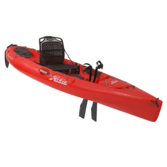 2019 hobie mirage revolution 11 red profile