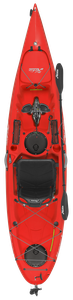 Hobie Mirage Revolution 11 kayak in red hibiscus for sale at sun valley sports