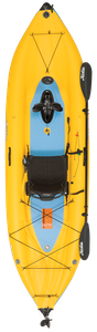 Hobie Mirage I12S inflatable pedal kayak for sale at sun valley sports