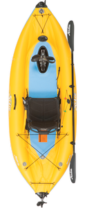 Hobie Mirage I9S inflatable pedal kayak for sale at sun valley sports